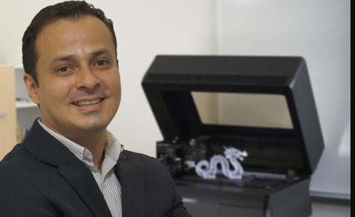 Anderson Soares, Territory Manager da Stratasys no Brasil