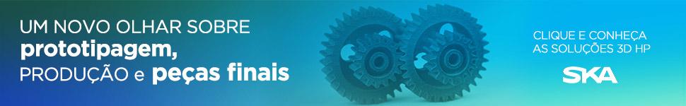 A SKA apresenta a tecnologia de impressão 3D da HP