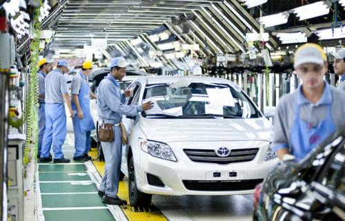 Toyota busca ampliar exportações brasileiras com motor de fabricação local