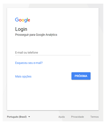 login-google-analytics