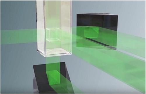 Projetada a laser no interior da resina, como se fosse um holograma - Impressão 3D volumétrica.