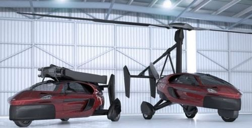 Primeiro carro voador fabricado em série será lançado em março