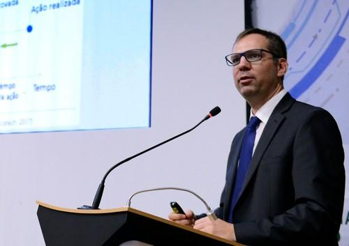 """""""Ou a gente investe em tecnologias de aumento de produtividade ou a gente estará perdido no Brasil"""", disse Marcelo Prim"""
