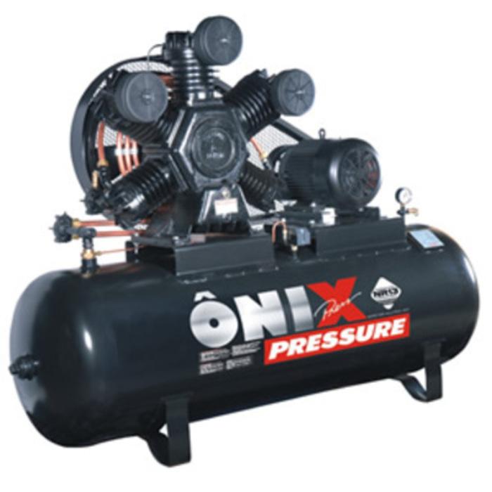 compressor de ar 60 p u00e9s 175 libras 425 litros 15cv