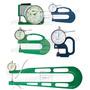 Medidor de Espessura com Relógio Comparador Analógico