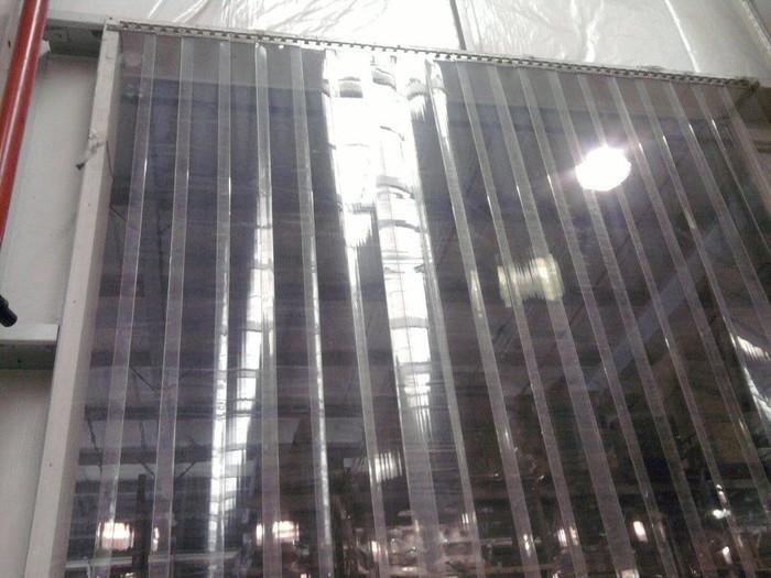 Cortinas de pvc cortinas de pvc biombos de solda for Argollas de plastico para cortinas