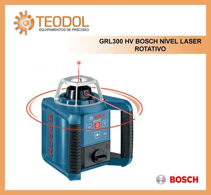 Grl300 hv bosch n vel laser rotativo nivel laser bosch - Nivel laser bosch ...