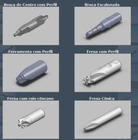 Construção de ferramentas especiais rotativas