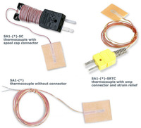 SA1: Termopares de Superfície com Resposta Rápida Revestimento Protetor Autoadesivo