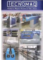 Maquinas para conformação de tubos e arames.